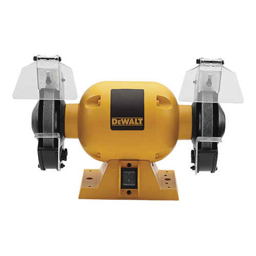 Esmeriladora de banco DeWalt DW752 amarilla 373 W 120 V