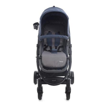 Carriola de bebé Prinsel Prima TS de paseo azul con chasis negro