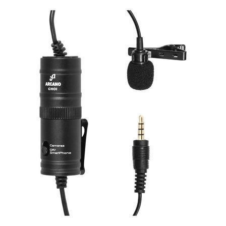 Microfone Arcano CHOI condensador  omnidirecional