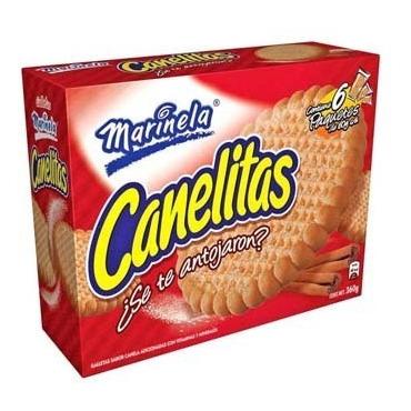 Galletas Marinela Canelitas 360 Gr