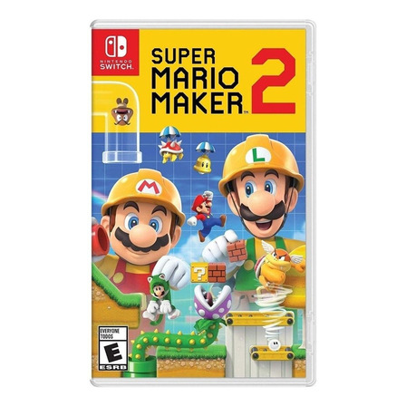 Super Mario Maker 2 Standard Edition Físico Nintendo Switch