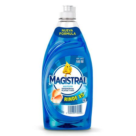 Detergente Magistral Multiuso Marina sintético en botella 500mL