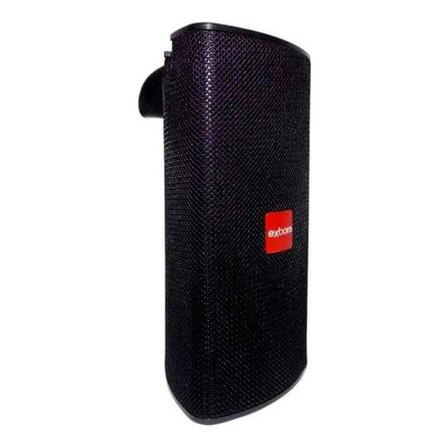Caixa de som Exbom CS-M33BT portátil com bluetooth preta