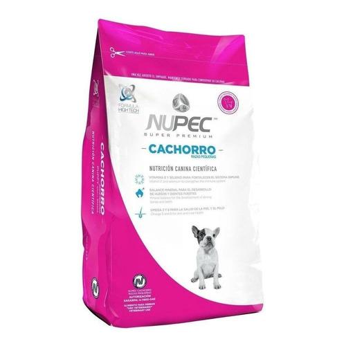 Alimento Nupec Nutrición Científica para perro cachorro de raza pequeña sabor mix en bolsa de 8kg