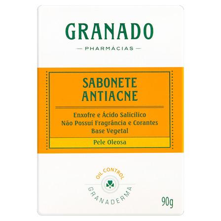 Sabão em barra Granado Antiacne Granaderma de 90 g