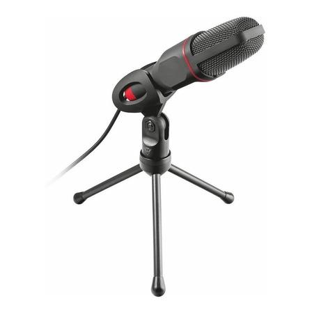 Microfone Trust GXT 212 22191 condensador  omnidirecional preto