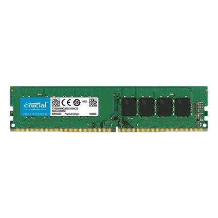 Memória RAM color Verde  16GB 1x16GB Crucial CT16G4DFD8266