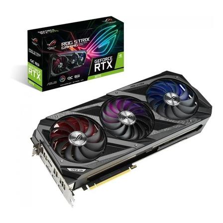 Placa de vídeo Nvidia Asus  ROG Strix GeForce RTX 30 Series RTX 3070 ROG-STRIX-RTX3070-O8G-GAMING 8GB