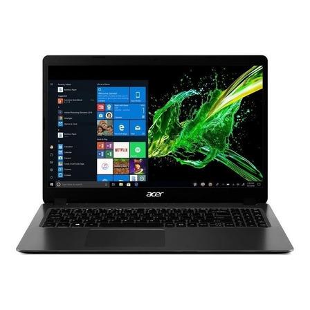 "Notebook Acer Aspire 3 A315-56 steel gray 15.6"", Intel Core i5 1035G1  8GB de RAM 256GB SSD, Intel UHD Graphics 1920x1080px Windows 10 Home"