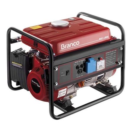 Gerador portátil Branco B4T-1300 220V 1300W monofásico