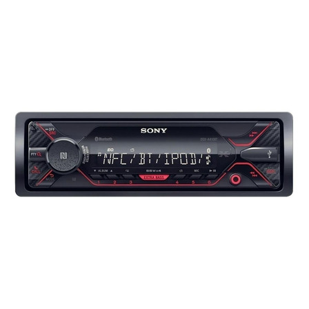 Som automotivo Sony DSX A410BT com USB e bluetooth
