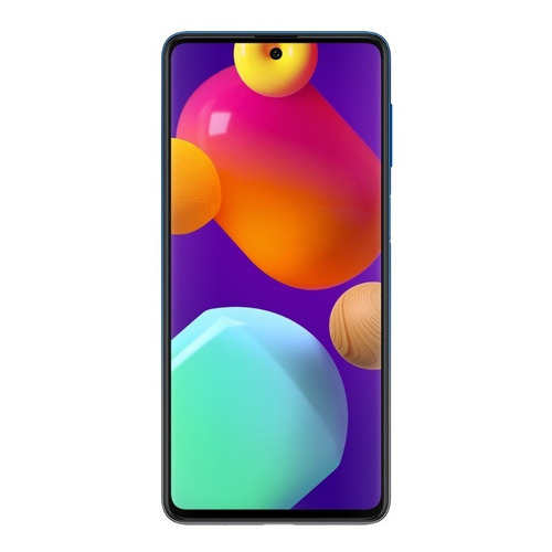 Smartphone Samsung Galaxy M62 128gb 8gb R. Bat7.000 Mah Azul
