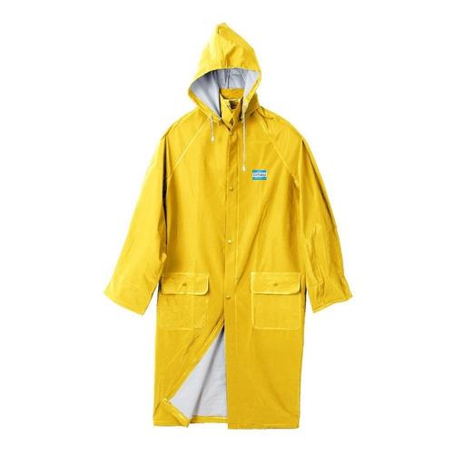 Capa De Lluvia Agua Pvc Amarilla O Azul Ombu - Fact A Y B