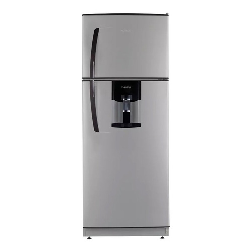 Heladera Patrick HPK141M10 silver con freezer 355L 220V