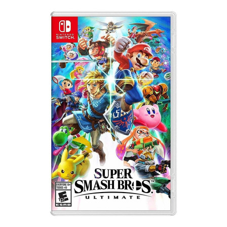 Super Smash Bros Ultimate Standard Edition Físico Nintendo Switch
