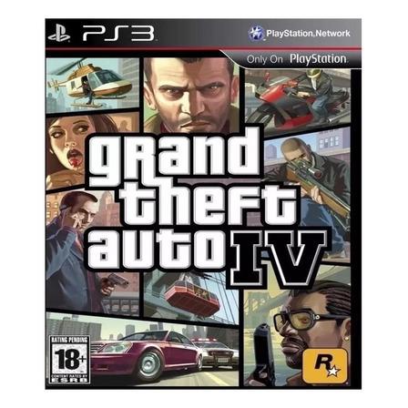 Grand Theft Auto IV Digital PS3 Rockstar Games