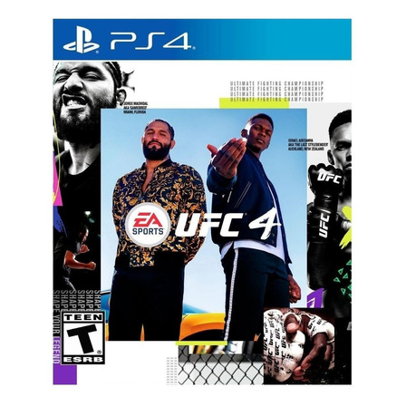 UFC 4 Standard Edition Electronic Arts PS4 Digital