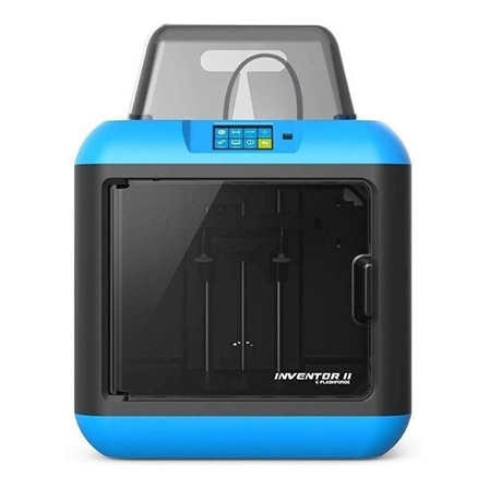 Impresora 3D Flashforge Inventor II color blue 100V/240V con tecnología de impresión FDM