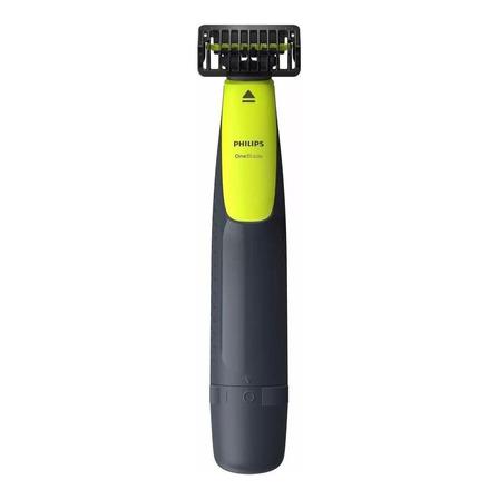 Barbeador Philips OneBlade QP2510  verde-lima e cinza-marengo 100V/240V