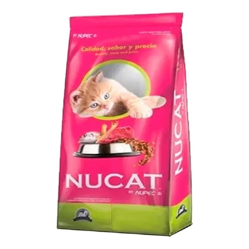 Alimento Nucat para gato adulto sabor mix en bolsa de 900g