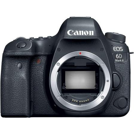 Canon EOS 6D Mark II DSLR color negro