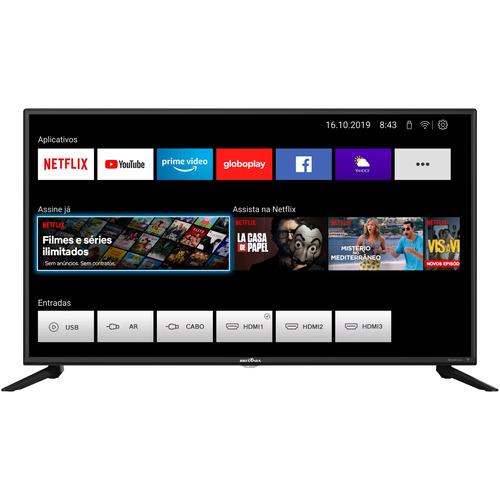 Smart Tv 42'' Britania Btv42g70 Full Hd Wifi Netflix