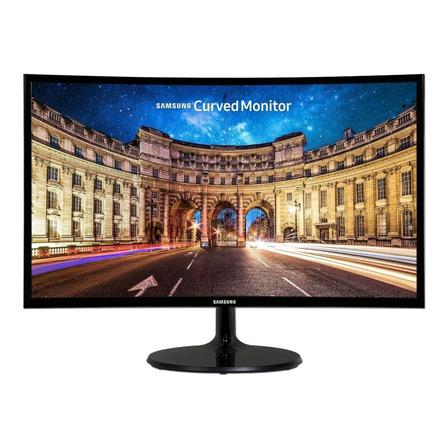 "Monitor curvo Samsung C27F390FHL led 27"" negro 110V/220V"