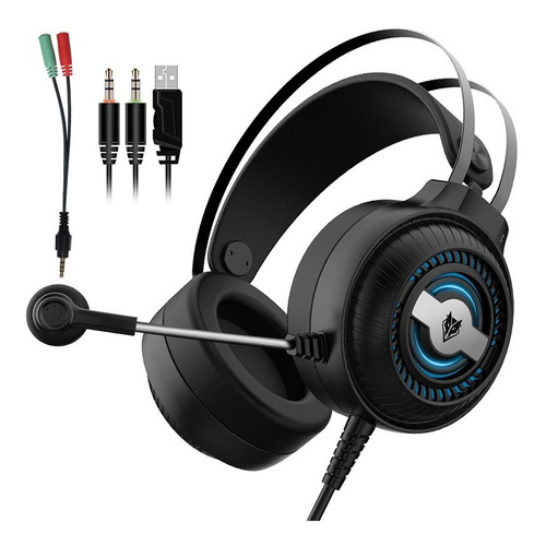 Auriculares Gamer Nubwo N1 Pro Rgb Pc Ps4 Xbox