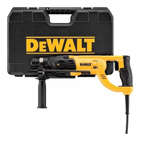 Rotomartillo DeWalt D25260K amarillo frecuencia de 50 Hz/60 Hz con 800 W de potencia 120V