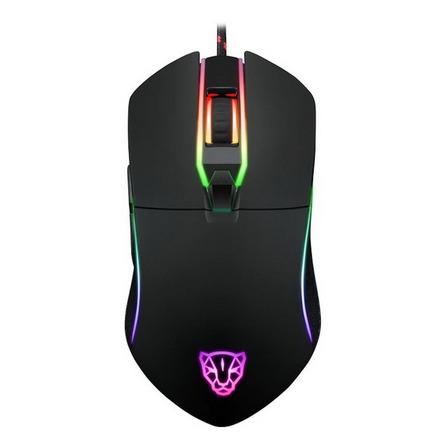 Mouse para jogo Motospeed V30 preto