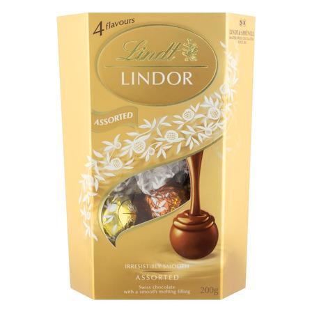 Chocolate Sortido Lindor Lindt  caixa 200 g