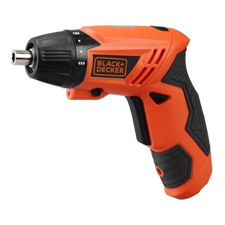 Parafusadeira sem fio Black+Decker KC4815 4.8V  laranja