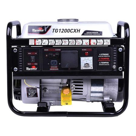 Gerador portátil Toyama TG1200CXH-110 1.1 kW monofásico com tecnologia AVR 127V