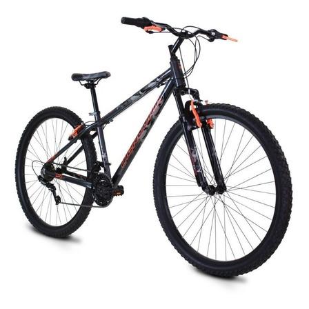 Mountain bike Mercurio Crow R29 21v frenos v-brakes color negro/rojo