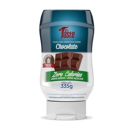 Salsa de chocolate Mrs. Taste Zero Calorías sin TACC en frasco 335g