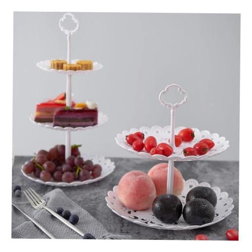 Set 2 Porta Cupcakes Bandeja Muffins Dulces 2 Y 3  Pisos