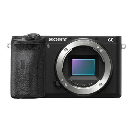Sony Alpha 6600 sin espejo color negro