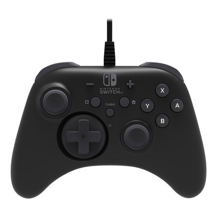 Control joystick Hori for Nintendo Switch  negro