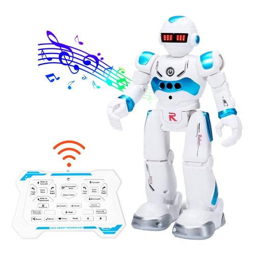 Robot Musical Juguete Radio Control Remoto Recargable Auto