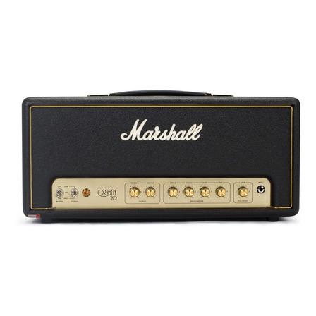 Amplificador Marshall Origin Origin20H Valvular de 20W color negro/dorado 110V - 120V