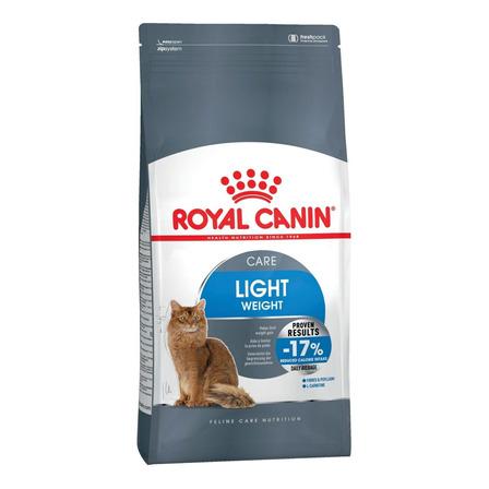 Alimento Royal Canin Feline Care Nutrition Light para gato adulto sabor mix em saco de 1.5kg