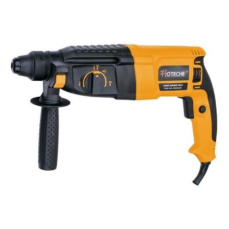 Rotomartillo Hoteche P800305 amarillo y negro frecuencia de 50Hz/60Hz con 800W de potencia 110V-120V