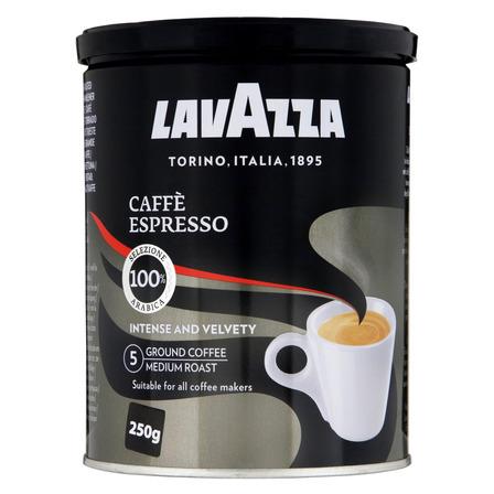 Café Torrado e Moído Espresso Lavazza Lata 250g