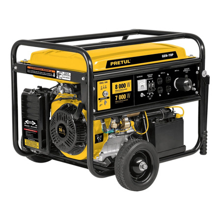 Generador portátil Pretul GEN-70P 8000W bifásico 120V/240V