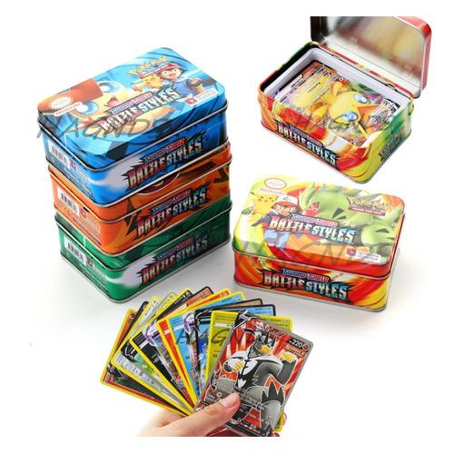 Pack Cartas Pokémon Tcg Sword & Shield Set En Lata X2
