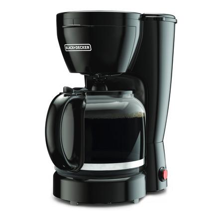 Cafetera Black+Decker CM0910 semi automática negra de goteo 120V