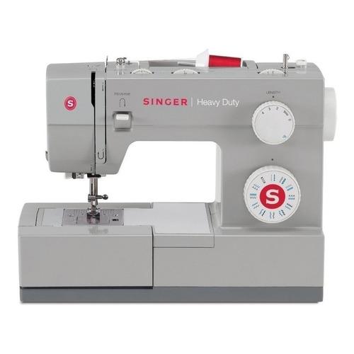 Máquina de coser semi industrial recta Singer Heavy Duty 4423 portable gris 220V - 240V