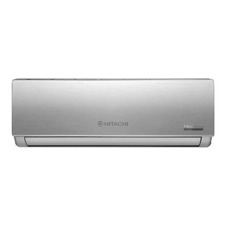 Aire acondicionado Hitachi Inverter split frío/calor 4515 frigorías plateado 220V HSAM5250NEOPLUS