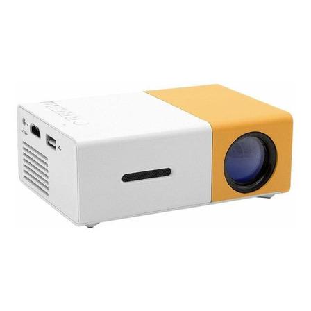 Proyector mini Redlemon 77491 600lm amarillo