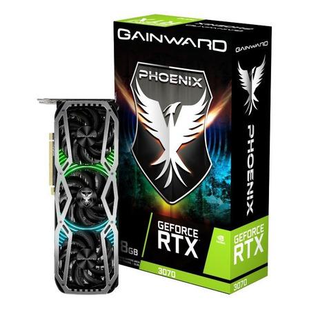 Placa de vídeo Nvidia Gainward  Phoenix GeForce RTX 30 Series RTX 3070 GeForce RTX 3070 Phoenix 8GB